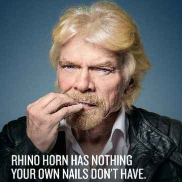 Sir Richard Branson – Rhino Poaching Campaign