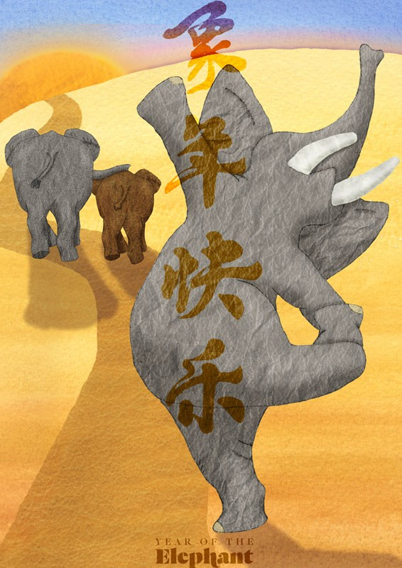 2016 Year Of The Elephant