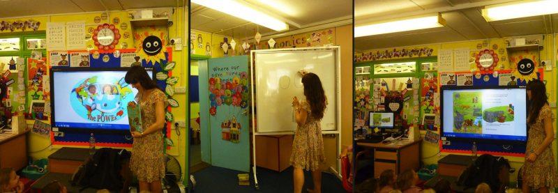 POWEs School Visit Book Tour