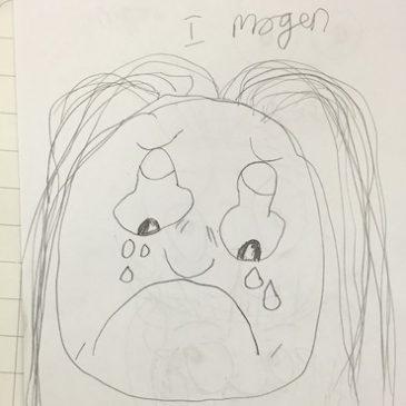 School Visit Drawing Class