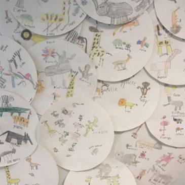 School Visit Children's Artwork