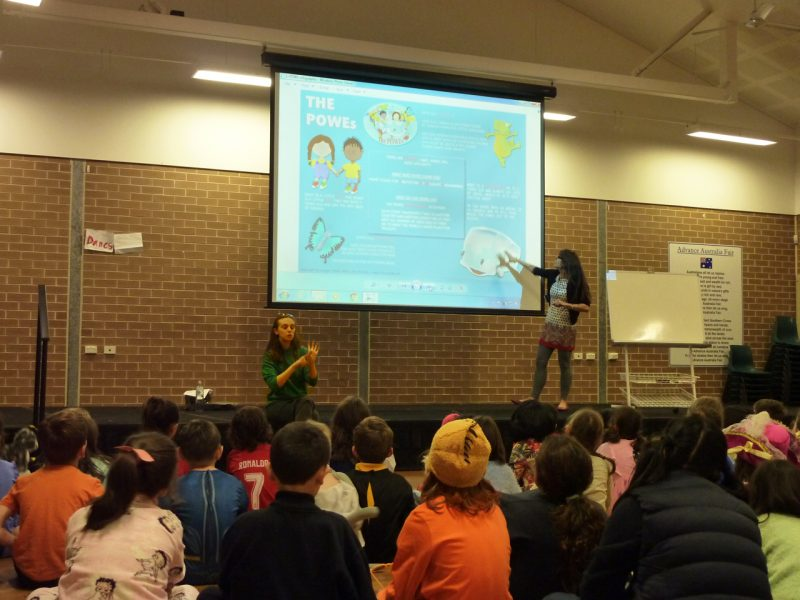 POWEs School Visit Book Week