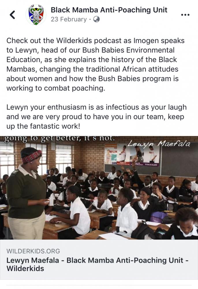Black Mamba Anti Poaching Unit